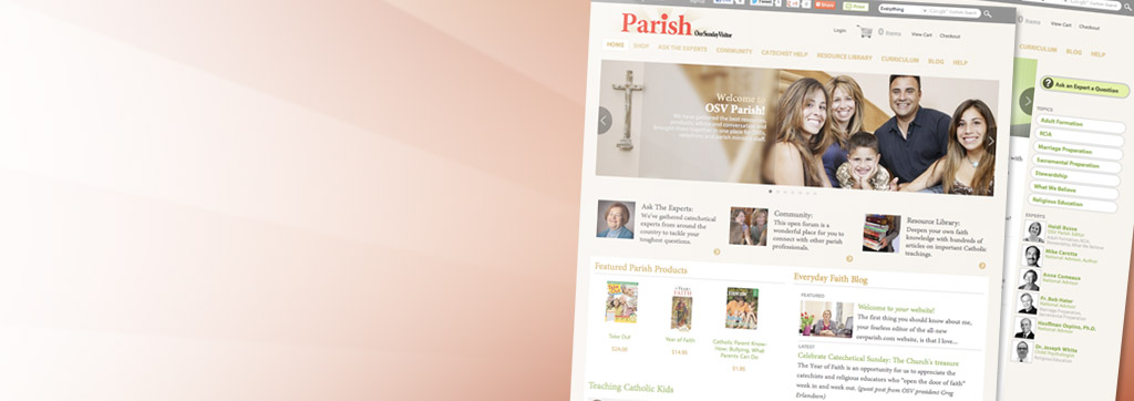 Resources, products, advice, and conversation for DREs, catechists, and parish staff.